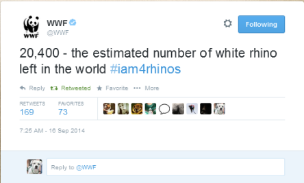 WWF tweet
